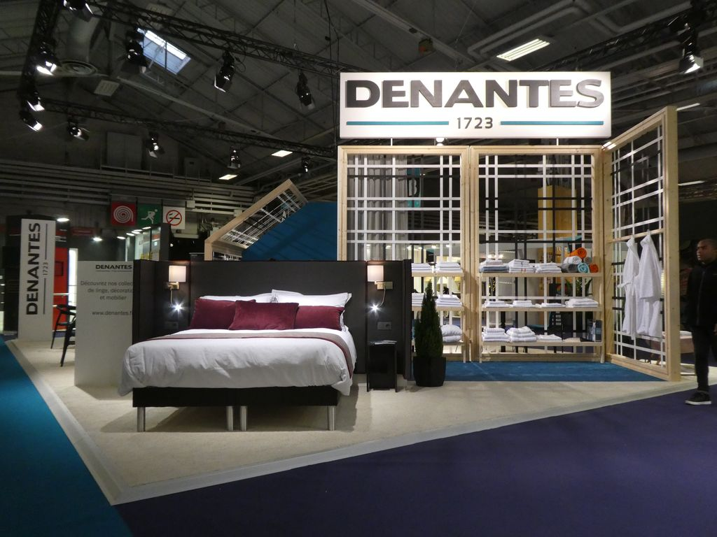 Stand Denantes, lit - Equip'Hotel 2018