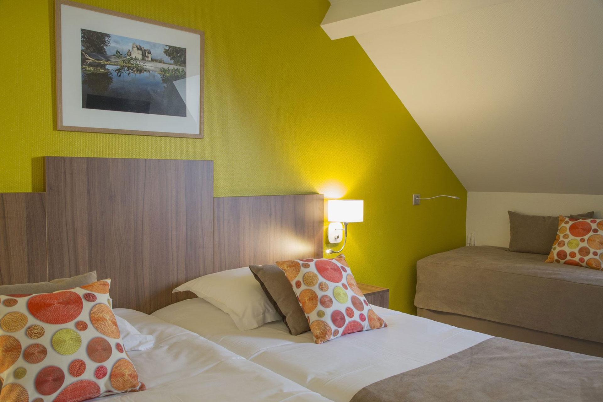 Têtes de lit gamme Chrono - Tête de lit Hôtel Chaptal