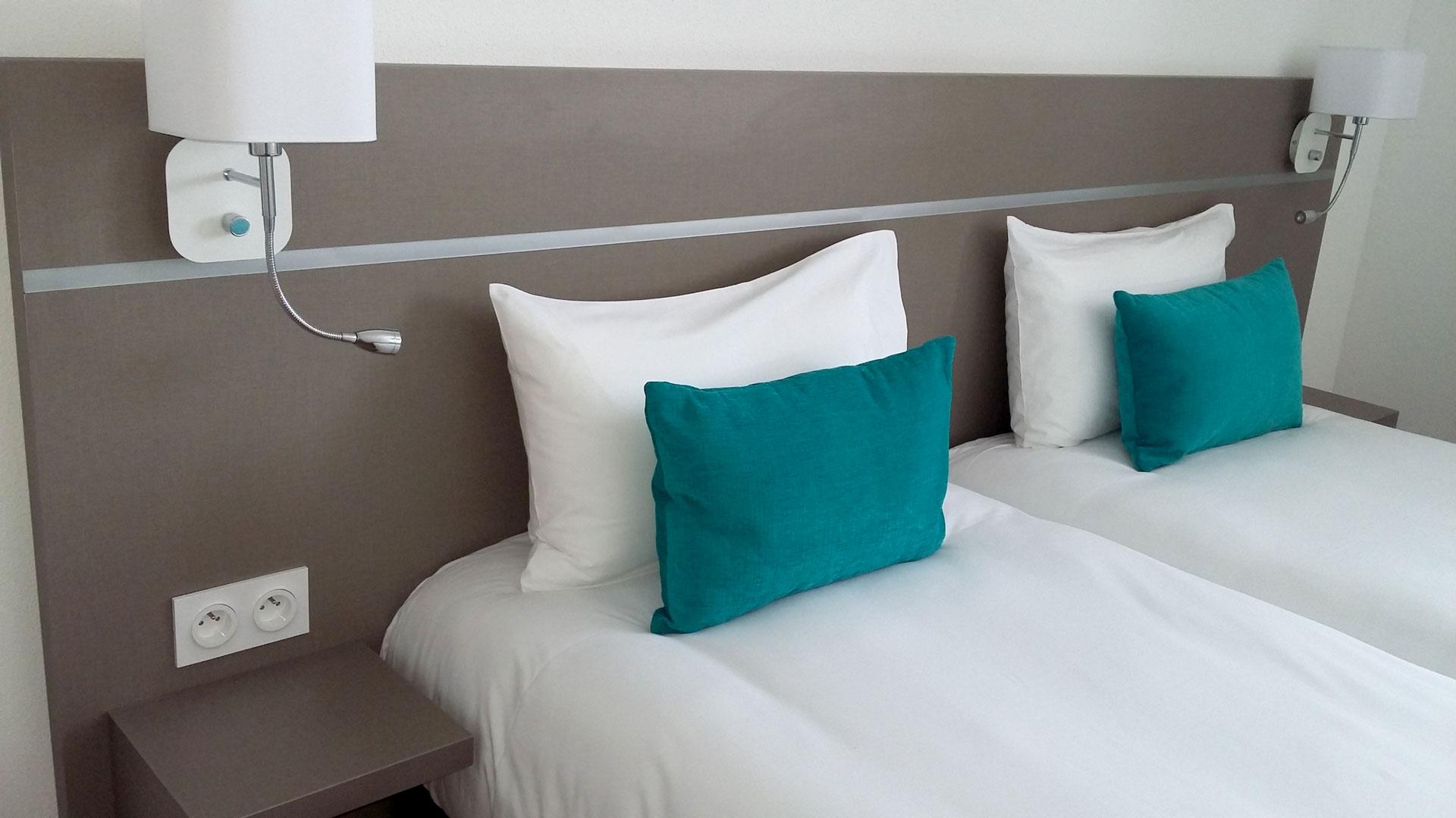 Têtes de lit - Hôtel Rives Sauvages