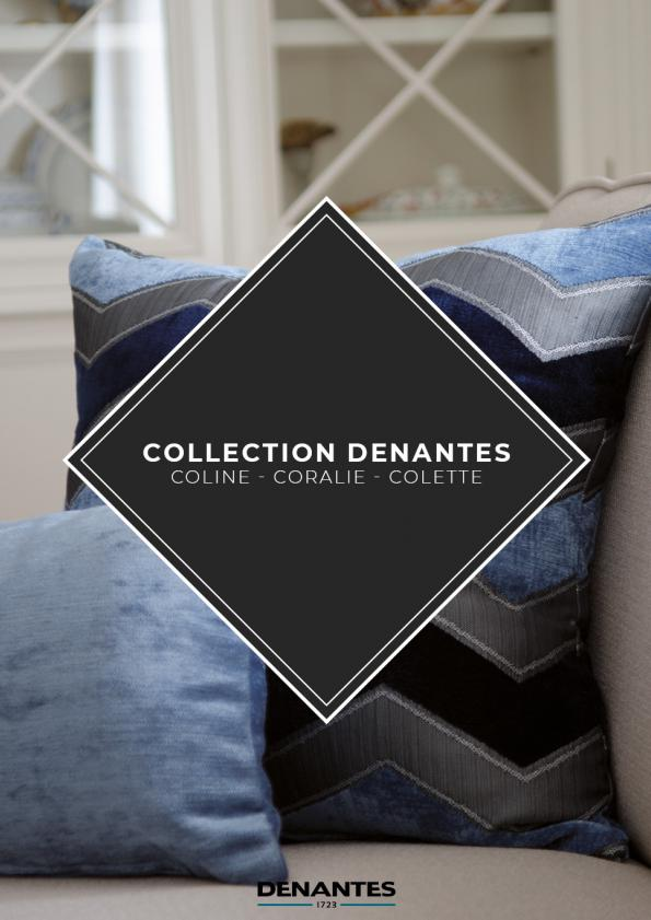Catalogue Collection Coline - Coralie - Colette | Denantes