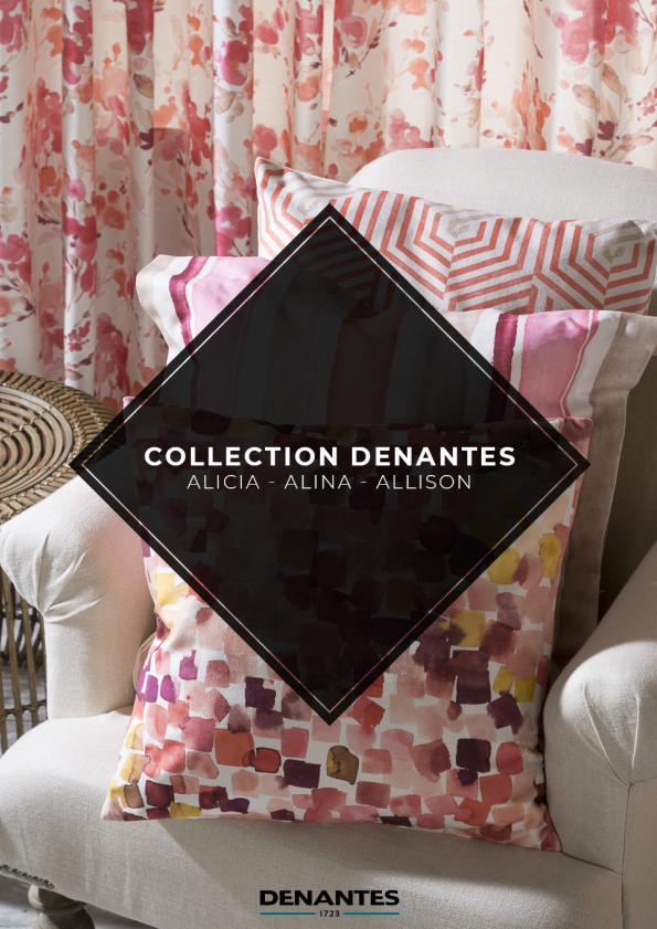 Catalogue Collection Alicia - Alina - Allison | Denantes