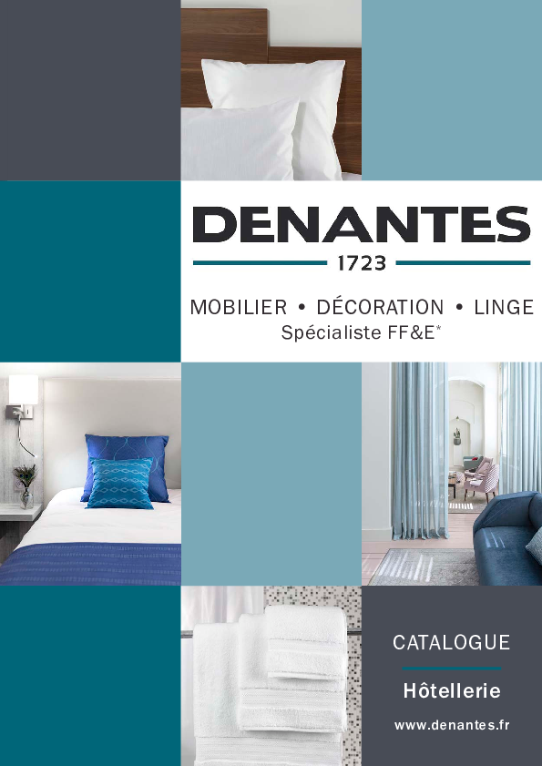 Catalogue Hôtellerie | Denantes