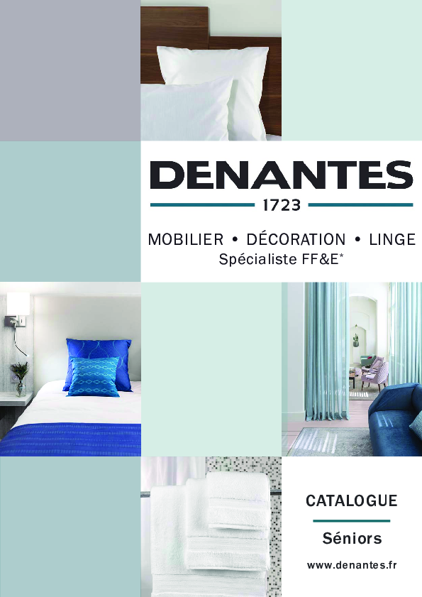 Catalogue Sénior & Ehpad | Denantes