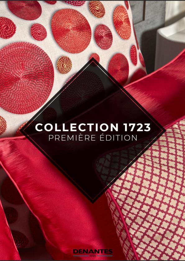 Catalogue de la collection 1723 - première édition | Denantes