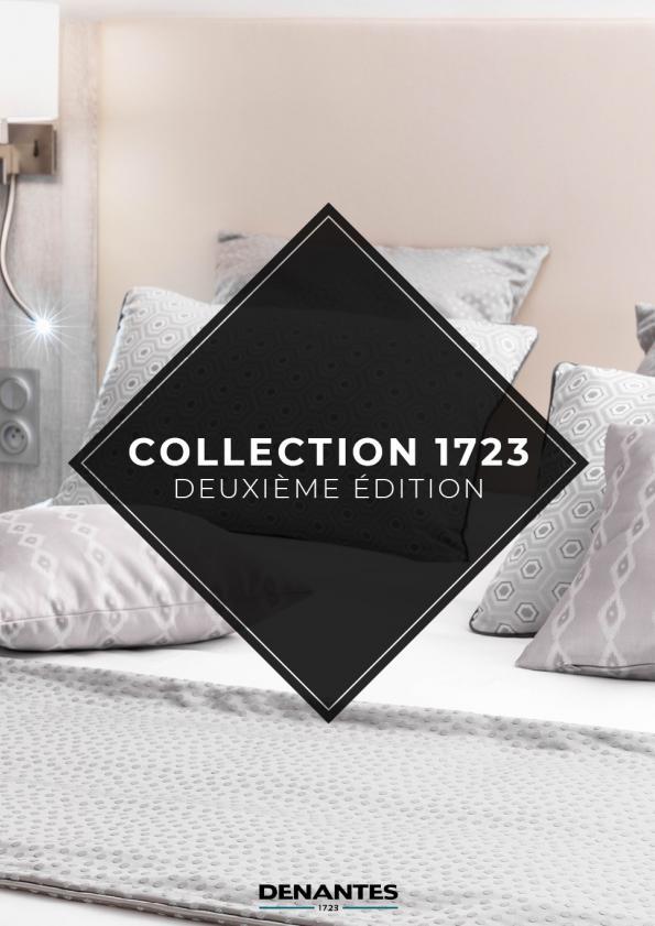 Catalogue de la collection 1723 - deuxième édition | Denantes