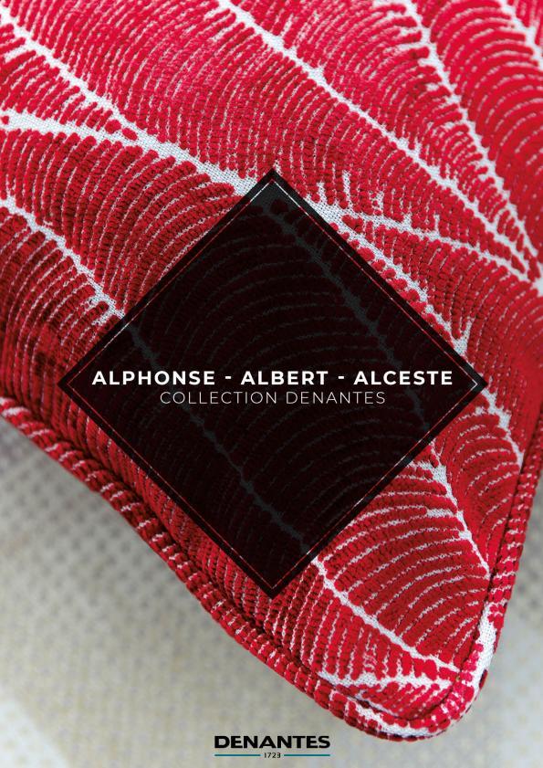 Catalogue Collection Alphonse - Albert - Alceste | Denantes