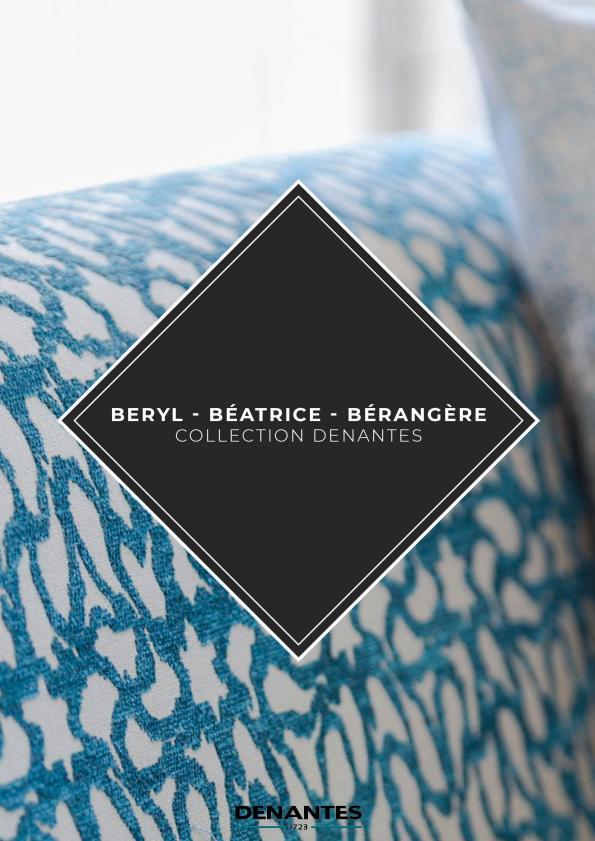 Catalogue Collection Béryl - Béatrice - Bérangère | Denantes