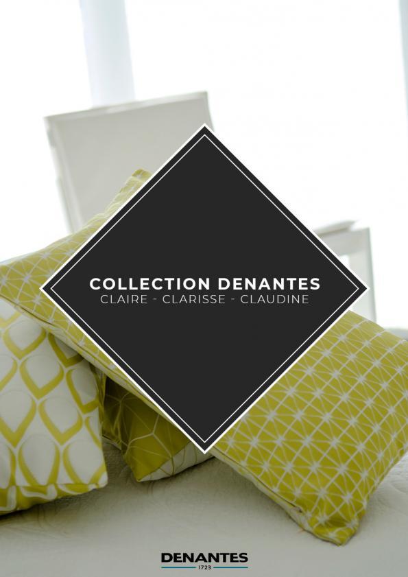Catalogue Collection Clarisse - Claire - Claudine | Denantes