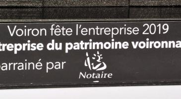 Trophée Entreprise du patrimoine Voironnais 2019