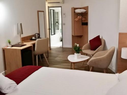 Hôtel Austria - Chambre rénovée par Denantes