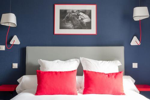 Tête de lit et coussins - La Grange Aux Loups