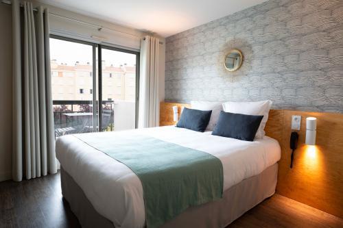 Coussins, plaids et rideaux Denantes - T Boutique Hotel Arcachon