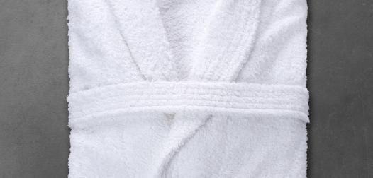 Peignoir Denantes boucle intirable - col châle