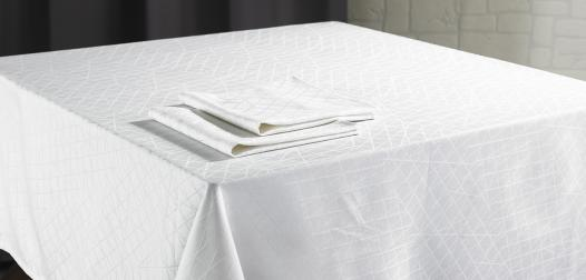 Nappe et serviettes de table Diamant - Denantes