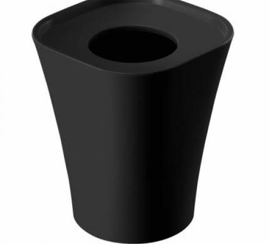 Corbeille Trash coloris noir - Denantes