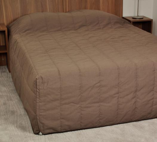 Couvre-lit pied boîte - Denantes
