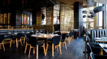 Salle de restaurant conçue par un architecte d'intérieur | Denantes