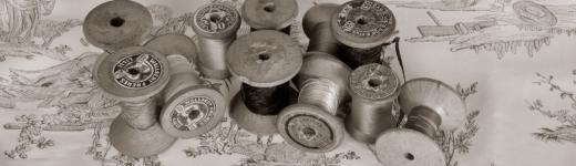 Bobines de fils à machine à coudre - Denantes